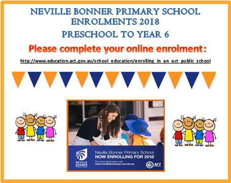Enrolling at Neville Bonner Primary Schoool